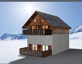 Chalet Mountain 3D