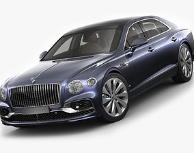 3D model Bentley Flying Spur 2020