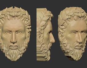 man head 3d 3D printable model