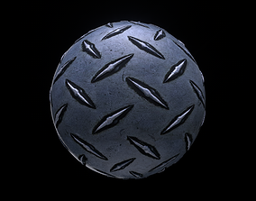 Diamond Plate Texture 3D