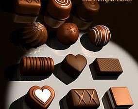 Chocolates 3D