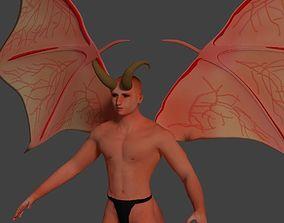 3D model Demon Man Incubus