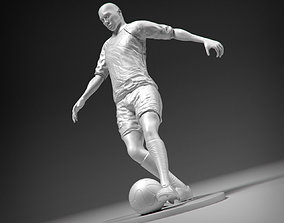 3D printable model Footballer footkick 01 stl