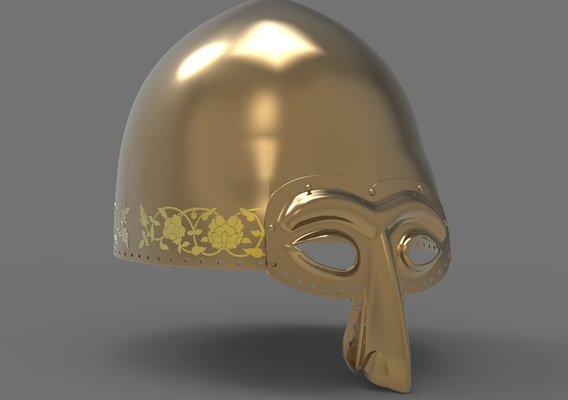 Turkic Khan Helmet