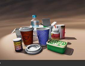 3D asset Environment Props