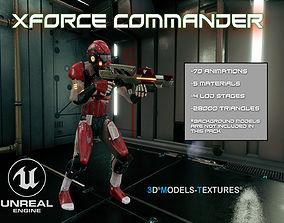 XForce Commander for UNREAL 3D asset