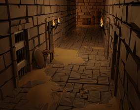 3D asset POLYGON - Dungeon Pack | CGTrader