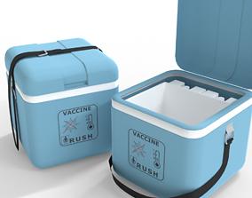 Vaccine carrier 3D asset
