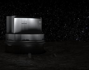 Telescope Subaru 3D asset