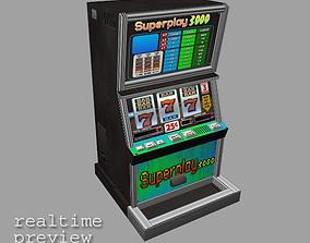 3D model Slot Machine - Low Poly 2