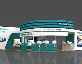3D Booth Exhibition Stand Stall 8x10m Height 350 cm 3 2