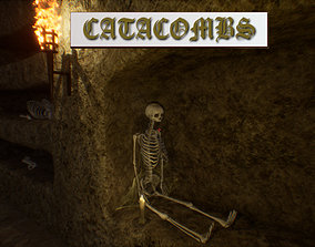 Catacombs unreal asset VR / AR ready