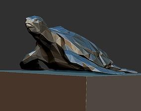 turtle triangle 3D print model