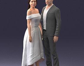 3D model Style couple 0219