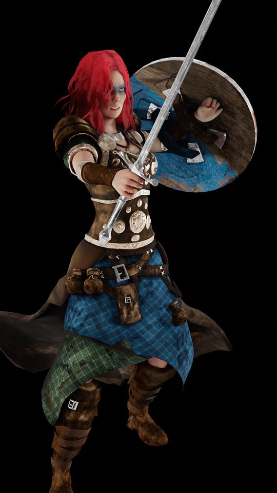 Warrior Character - Boudica