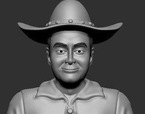 cowboy 3d printable character model