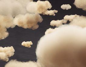 3D model VDB cloud pack