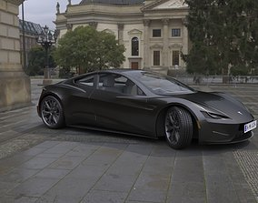 3D model TESLA CAR2
