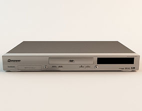 3D model Pioneer DVD Player