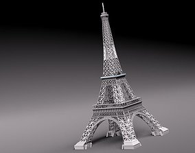 3D model europe Eiffel Tower