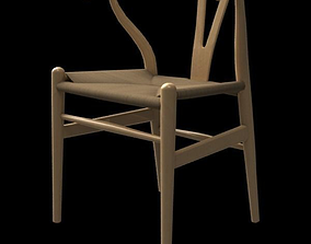 3D model Wegner CH24 Wishbone chair