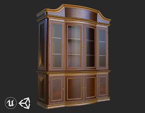 Vintage Furniture Cabinet PBR Game Ready 3D model