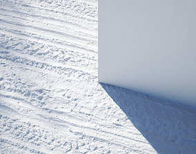 3D model Snow Covered Road seamless texture
