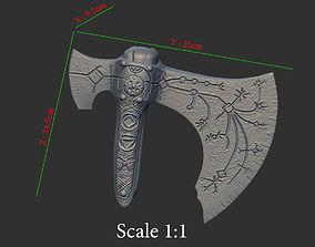 3D printable model Leviathan AXE Head - Weapon Kratos - 3