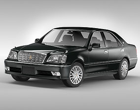 3D model Toyota Crown 1999 - 2005