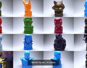 marvel Marvel Toy set 3D