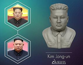 3D Sculpture of Kim Jong un 3D print model 3D print