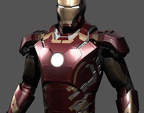 3D printable model Iron man object obj