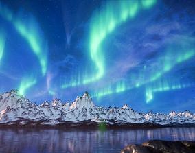 Aurora borealis 3D