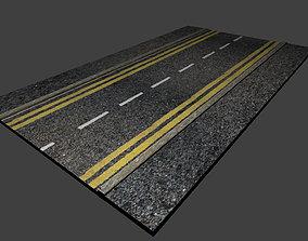 exterior 3D model High detail Road