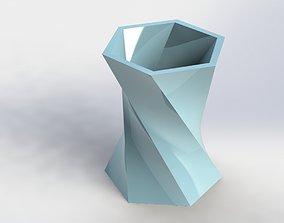 Decorative Flower Pot 13 3D print model