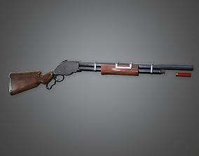 FPS Western Pump Shotgun - Vaquero - WES - PBR 3D asset 1