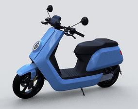 Street moped scooter NIU NQI 3D Model