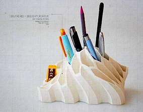 3D printable model Pen Holder house