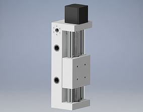 metal travel Z axis 3D