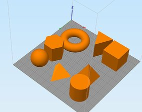 Geometric figures very geometric figures 3D print model