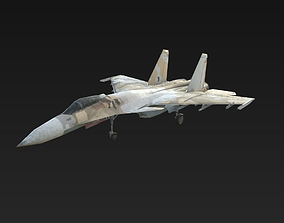 Fighter SU-33 3D model