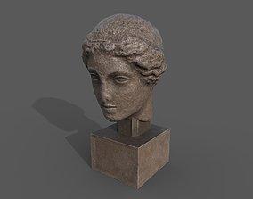Head of Aphrodite 3D asset