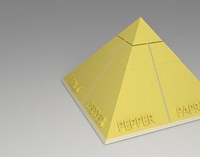 Spice Rack Pyramid 3D print model