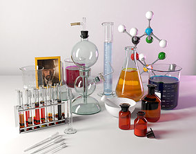 Laboratory glassware 3D