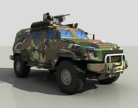 3D model Turkish armored car zpt Cobra