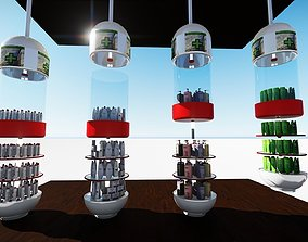 3D pharmacy stand