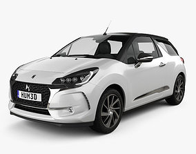 DS3 Performance Line Cabriolet 2016 3D