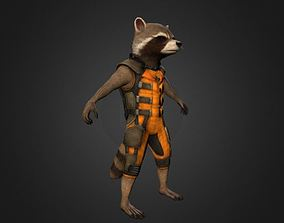 Rocket Raccoon 3D printable model rocketraccoon rocket