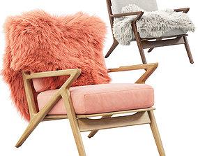 Joybird Soto Concave Arm Chair 2 3D