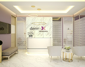 3D model Beauty Clinic Dermis Brawijaya